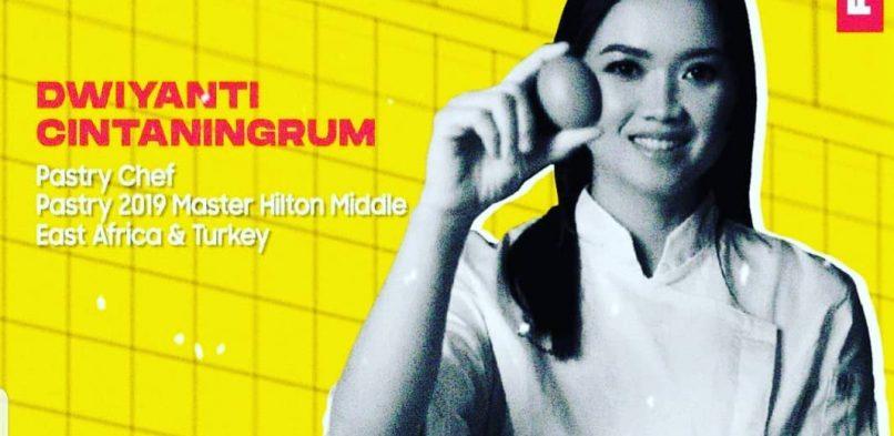 """Mahasiswa Program Studi Manajemen Industri Katering Melaksanakan """"Foodevent : Pastiserie Plaphy"""" dengan Menghadirkan Fine Dining Head Pastry Chef, Dwiyanti Cintaningrum pada Sabtu, 19 Desember 2020"""