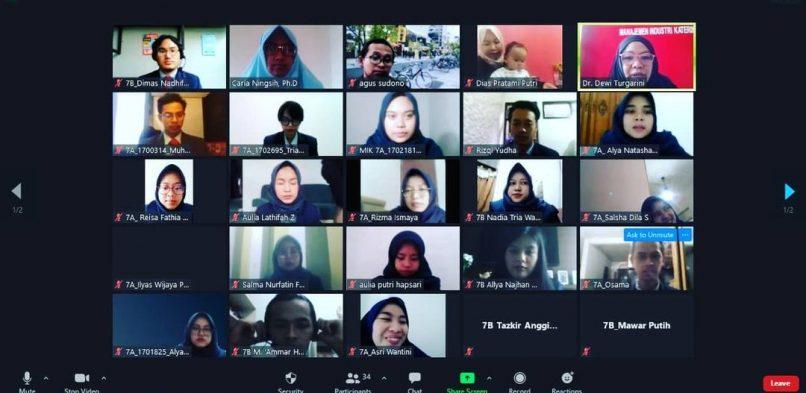Prodi MIK Mengadakan Seminar Proposal Skripsi Mahasiswa Angkatan 2017 pada 13-15 Januari 2021